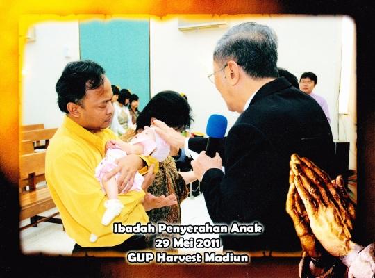 Victory Marcia Elnissi Widiono telah diserahkan pada 29 Mei 2011 di GUPDI Madiun