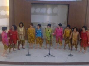 Salah satu arransement saya dengan lagu Ku Kan Menari Sperti Daud kan Menari, dilombakan di GPDI Bayeman, antar komisi