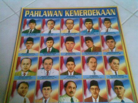 Contoh poster pahlawan
