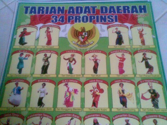 Contoh poster tarian adat