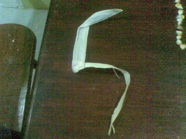 Angka Lima dari krobot jagung