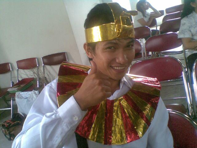 Kostum ala Firaun