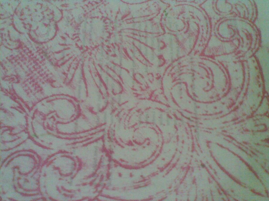 anda bisa juga menjadikan kertas batik ini sebagai hiasan kaleng tempat pensil.