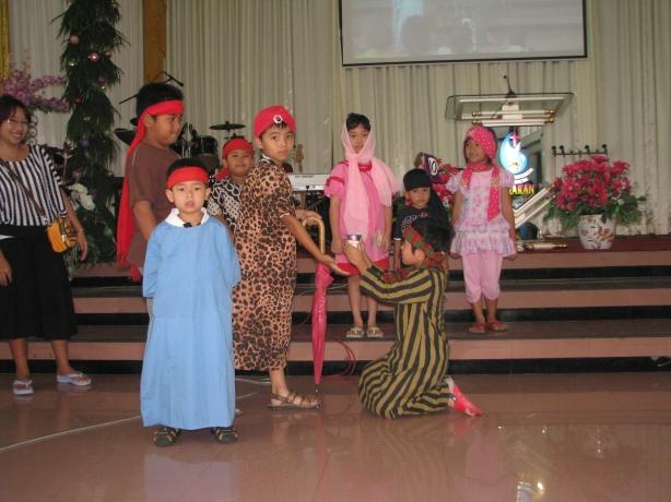 Yosua setia jadi abdi musa