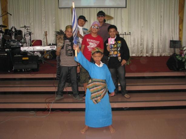 Yosua setia memimpin perang lawan Amalek
