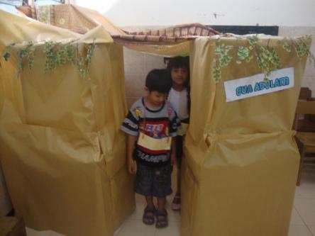 Anak Sembunyi di Gua Adulam, Karya Kak Deasy Malino dan kawan-kawan