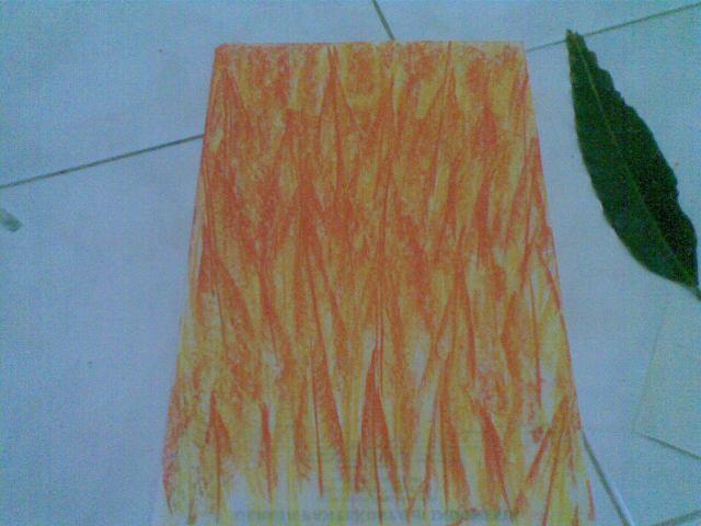 Gambar kobaran api sudah jadi