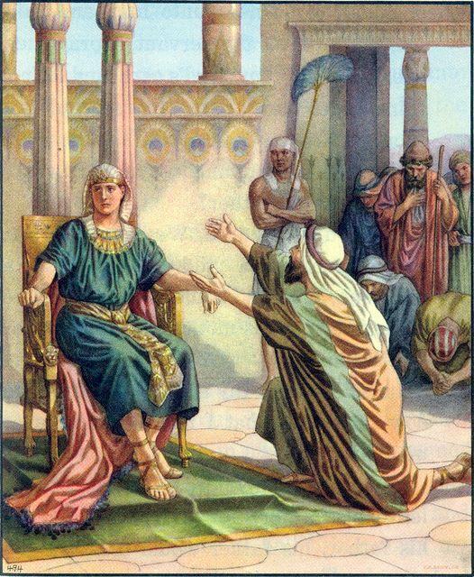 saudara-saudara Yusuf datang menyembah yusuf