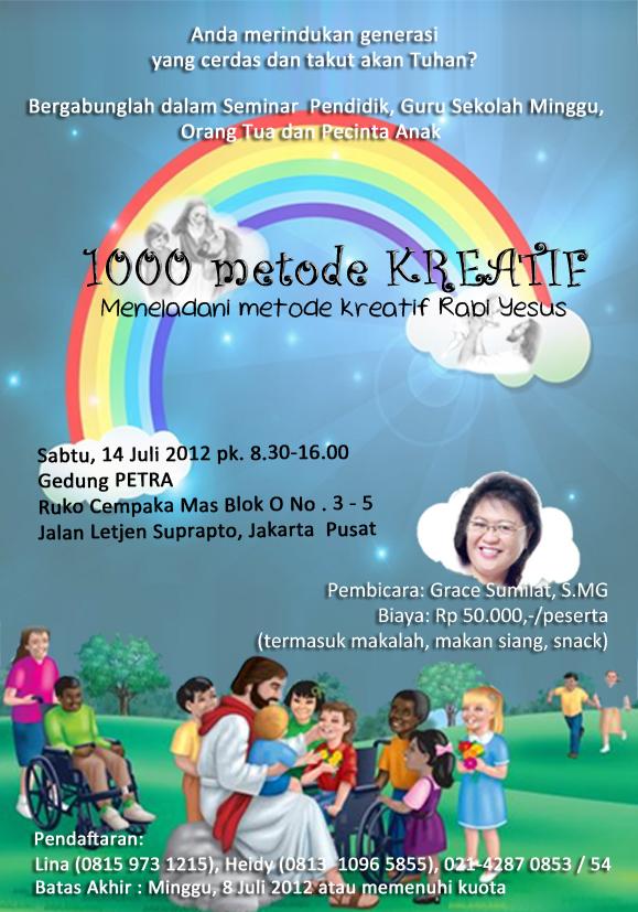 Seminar 1000 metode Kreatif