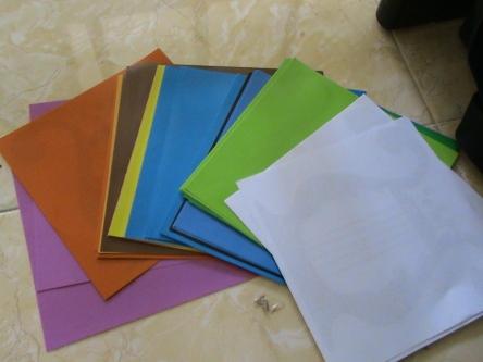 warna warna yang sudah siap dan lengkap masing masing warna sediakan 10 potong