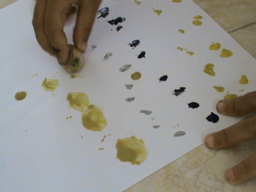 bawang putih juga bisa ditidurkan sehingga menghasilkan hasil cap yang lebih melebar