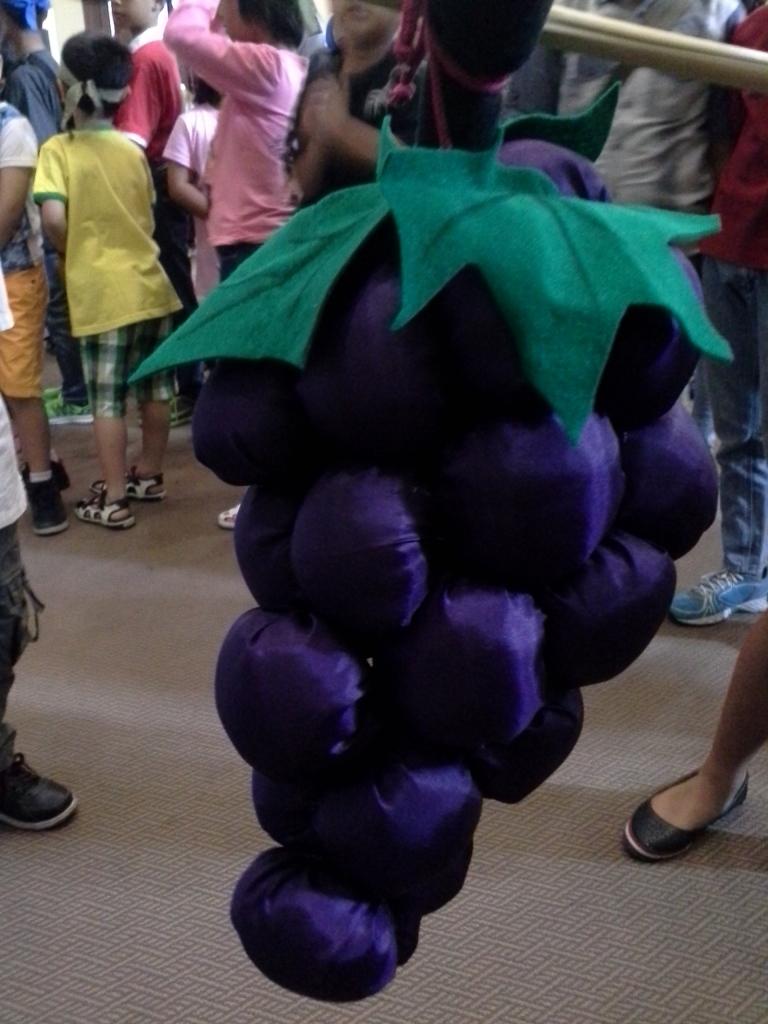 Anggur-angguran tampak dekat, buatan Ibu Giat