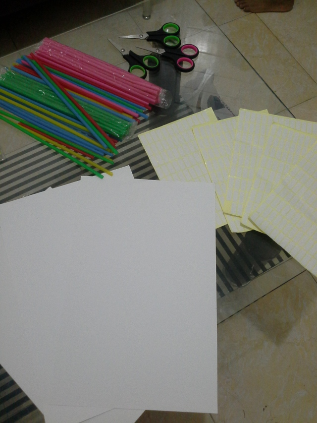 kertas yang kita pakai kertas tebal