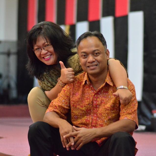 Kami senang bisa melayani Tuhan bersama-sama.